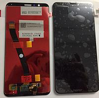 Оригинальный дисплей (модуль) + тачскрин (сенсор) для Huawei Honor 7X (черный цвет)