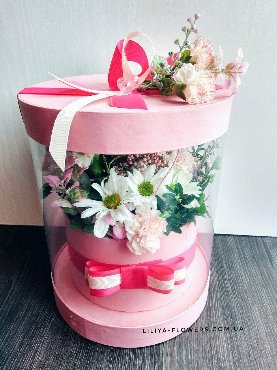 """Коробка-аквариум """"Розовая мечта"""""""