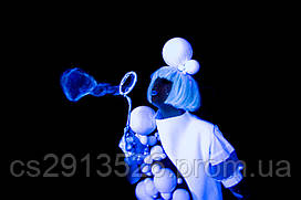 ШОУ Ультрафиолетовых Мыльных Пузырей