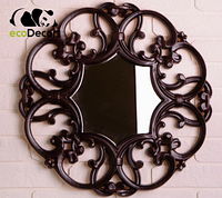 Зеркало настенное Male черное