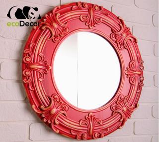 Зеркало настенное Buenos Aires красное