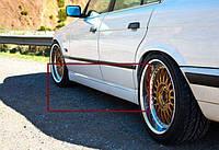 """Накладки на пороги БМВ Е34 """"М Стиль"""", BMW E34"""