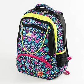 Школьный рюкзак для девочек - черный -YG184