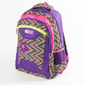 Школьный рюкзак для девочек - фиолетовый -YG187