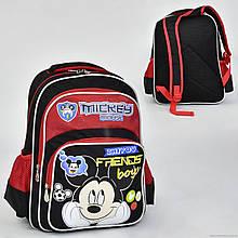Шкільний рюкзак для хлопчика Міккі Маус
