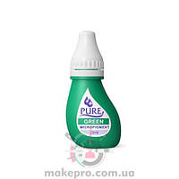 Pure Green pigment Biotouch /Зеленый 3 мл