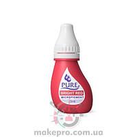 Pure Bright Red pigment Biotouch / Яркий красный 3 мл