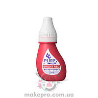 Pure Bright Red pigment Biotouch / Яркий красный 3 мл
