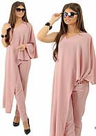 Костюм женский блуза + брюки  в расцветках 25172, фото 1