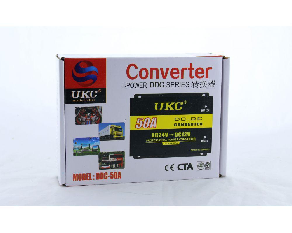 Преобразователь энергии Автоинвертор UKC DC/DC 24v-12v 50A