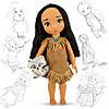 """Кукла Дисней Аниматоры """"Покахонтас"""". Оригинал из США"""