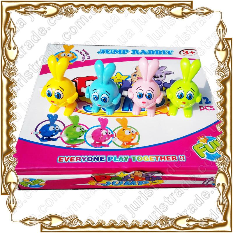 Заводная игрушка Кролик, 12 шт. в дисплее 31*30*5,5 см. 903 А