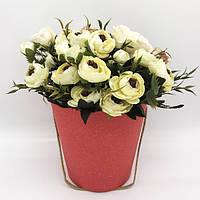 Коробка под цветы в виде ведра