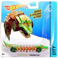Commander Croc, Машинка Мутант, Hot Wheels, Mattel