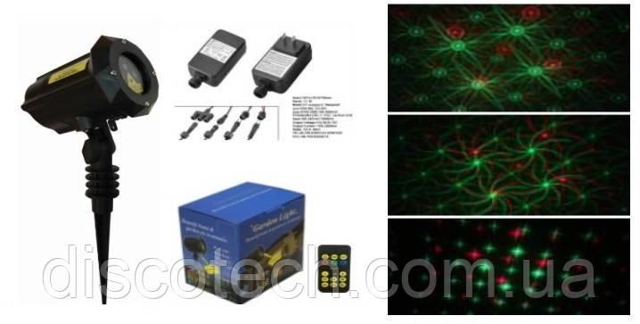 Лазер водонепроницаемый X-Laser X-34P-B1 RG moving laser 8 Flowers с ДУ