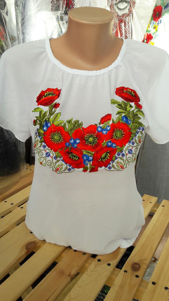 Женская вышитая блуза Код опт301