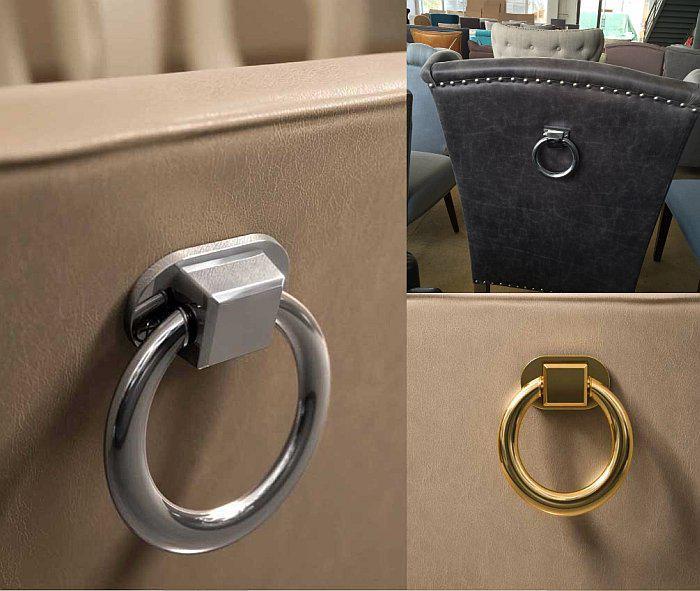 Кольцо на спинке стула арт деко