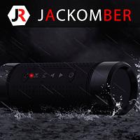 Переносная портативная беспроводная Bluetooth колонка Jakcomber OS2 Водонепроницаемая Радио Повер Банк Фонарик