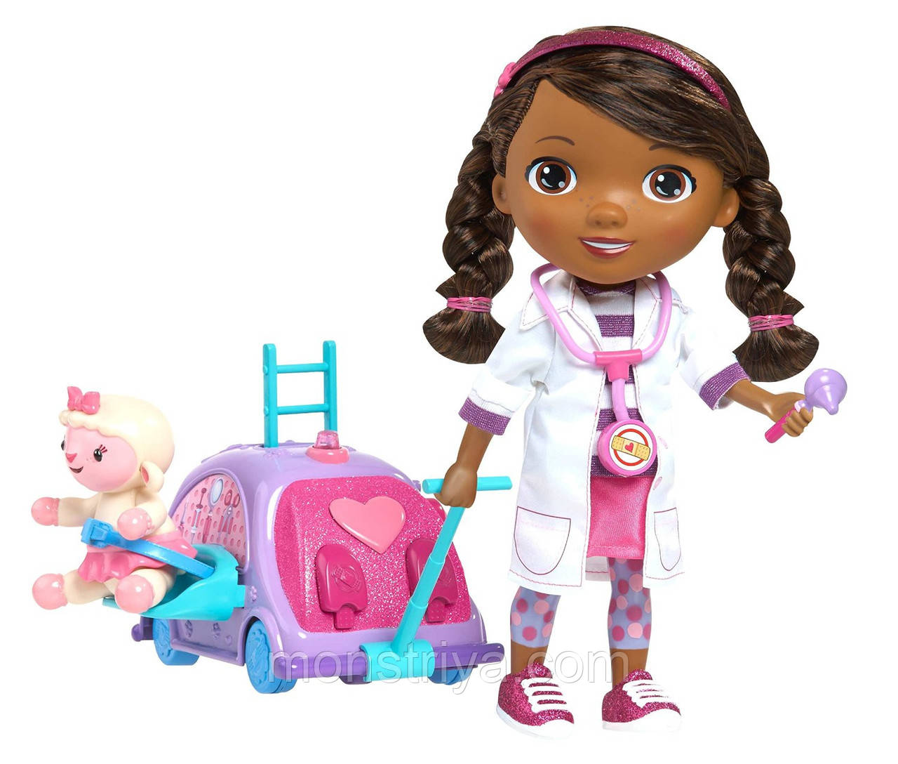 Кукла интерактивная  доктор Плюшева Doc McStuffins, фото 1