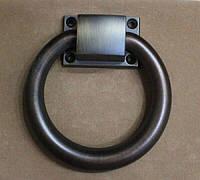 """Ручка RK-108-ANTIK """"KOŁATKA"""" кольцо на стул, античная бронза d=103 мм, фото 1"""