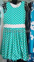 Детское летнее платье. В горошек Billy bear Венгрия 3-6лет