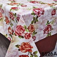 Клеенка на стол. Китай. Рулон. (8526а)