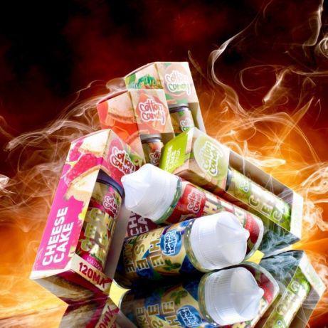 Жидкость для электронных сигарет CHEESECAKE 120ml Оригинал (by COTTON CANDY)