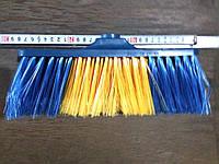 Щетка для уборки разноцветная.