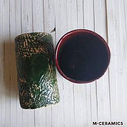 """Стакан """"СЕРДЦЕ"""" Зелёный"""