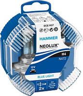 NEOLUX BlueLight  / тип лампы Н4 / 2шт