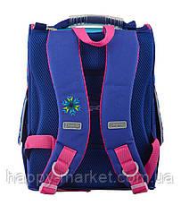 Рюкзак каркасный  Frozen blue 555158 Б 1 Вересня, фото 2
