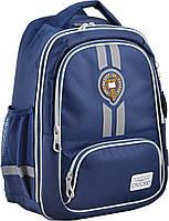 Рюкзак школьный OX 373 синий 555701 YES