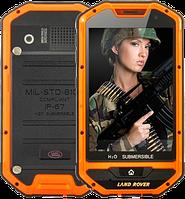 "Защищенный смартфон Land Rover A1 H2O SUBMERSIBLE! Android, 3500 мАч, 2 SIM, дисплей 4""., фото 1"