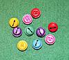 Бубенчик разноцветный 715 упаковка 5 шт
