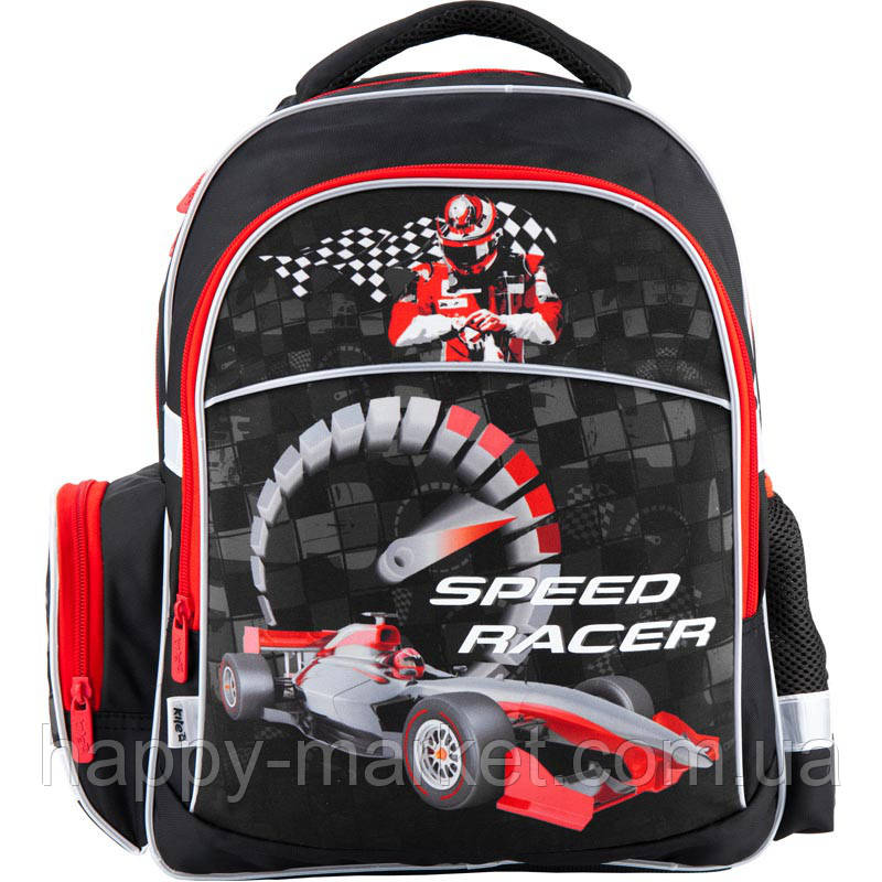 Рюкзак школьный K18-510S-1 Speed racer Б