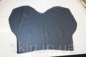 Натуральная кожа черного цвета, толщина 0,7 мм., артикул СК 2174, фото 2