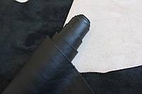 Натуральная кожа черного цвета, толщина 0,8 мм., артикул СК 2176