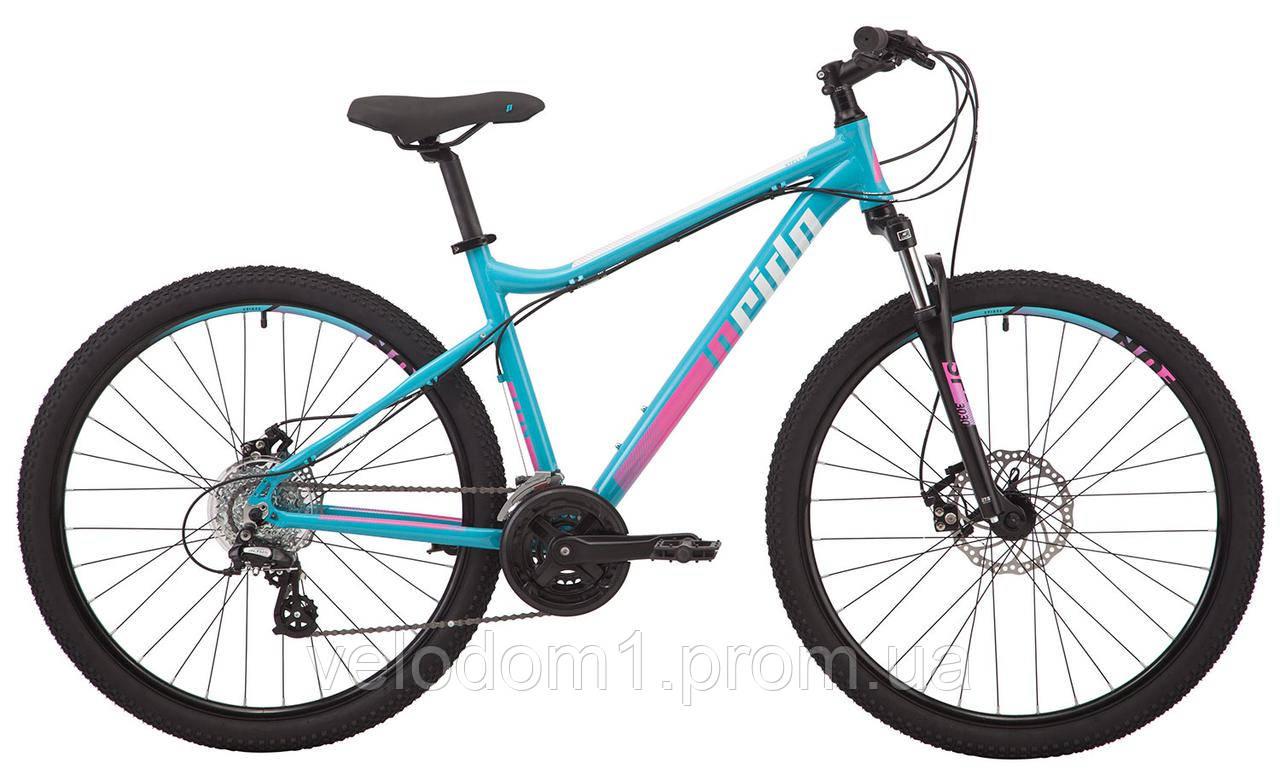 "Велосипед Pride 27.5"" Stella 7.2 blu 16-18"" (2018)"
