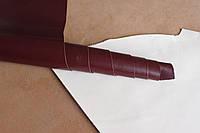 Натуральная кожа бордового цвета, толщина 0,8 мм., артикул СК 2193