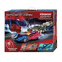 Гоночная трасса Carrera The Amazing Spider-Man серии Go.