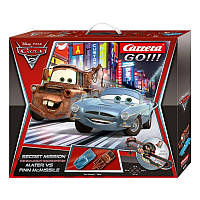 Гоночная трасса Carrera Go Disney Cars 2 - Secret Mission.