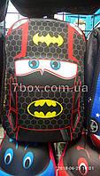 Школьный детский Рюкзак каркасный Тачки Бэтмен David Polo  20*35 дно 10см