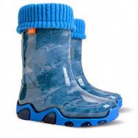 Гумові чобітки (резиновые сапоги) Demar Джинс Стар