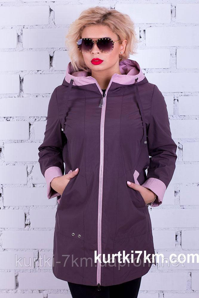 b8f736e3 Ветровка женская больших размеров Poem №8236 - Женские куртки, пуховики -  Куртки 7км в