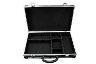 Ящик-кейс для инстр., с перегородками (395*240*90 мм)