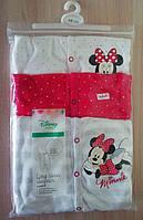 Человечки Disney Baby 3 шт .Комбинезон Mickey Disney, р-р. 68