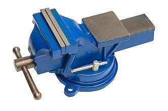 Тиски поворотные 125 мм для слесарных работ Housetools 07K212