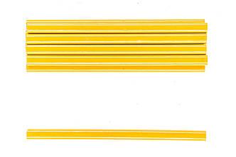Набор жёлтых овальных карандашей по стеклу 175 мм (в наборе 12 шт) Housetools 14B802