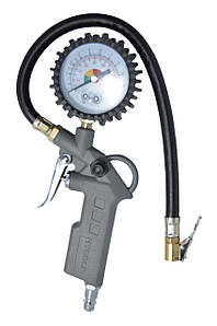 Пистолет для подкачки колес с манометром 63мм пневматический Housetools 80K503