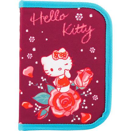Пенал Hello Kitty 1отд.,1 отв. HK18-621-2 , фото 2